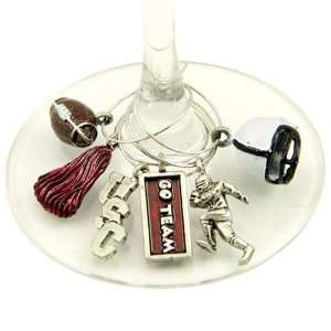 South Carolina Gamecocks NCAA Glassware Charm Set (Set of 6)