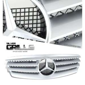 Mercedes Benz W211 Sport Grill   Chrome Painted CL Style Automotive