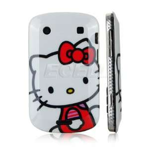 Ecell   WHITE HELLO KITTY DESIGN HARD BACK CASE COVER FOR