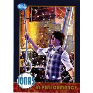 2009 Topps Jonas Brothers Trading Card #30 IN PERFORMANCE