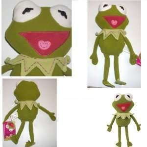 POOK A LOOZ MUPPETS KERMIT THE FROG PLUSH TOY DOLL 12 H Toys & Games