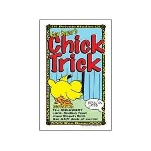 Chick Trick   Ron Bauer   Card / Close Up Magic tr Toys