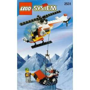 LEGO City Set #2531 Rescue Helicopter  Toys & Games
