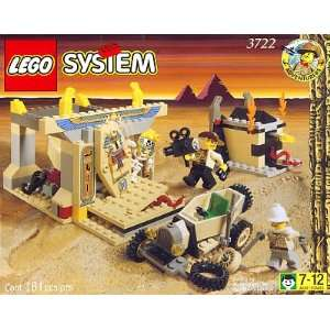 LEGO Adventurers 3722 Treasure Tomb Toys & Games