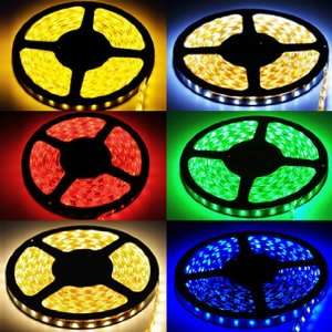 500CM 16FT Waterproof RGB 5050 SMD LED Strip Light 300LEDS 60LED/meter