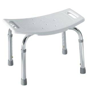 Heavy Duty Shower Bench Bath Chair by Medline   Size Bariatric 550 LB