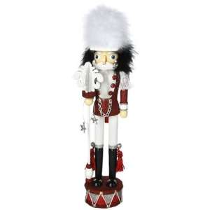 Hollywood Nutcrackers Kurt Adler 17 Inch Red and White