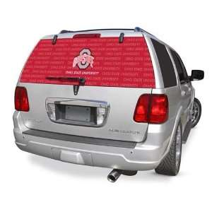 Ohio State Rear Window Rearz Sticker   Decal