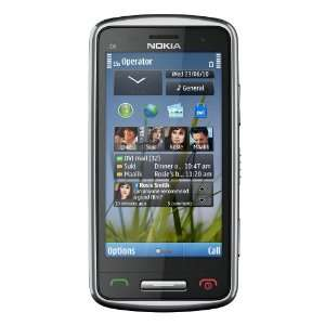 Nokia C6 01 Unlocked GSM Phone with 8 MP Camera, 720p Video Recording