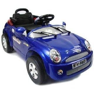 Mini Cooper Style Electric Ride On Car for Kids with R/C