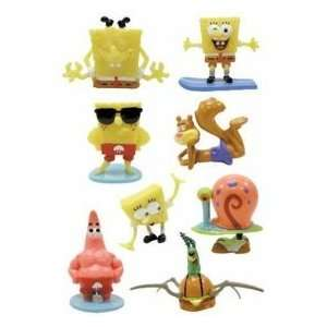 25 pc spongebob SquarePants mini small figures assortment