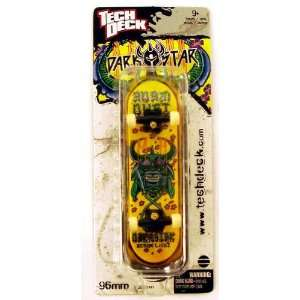 Tech Deck Holiday Exclusive Single Board DARKSTAR Yellow