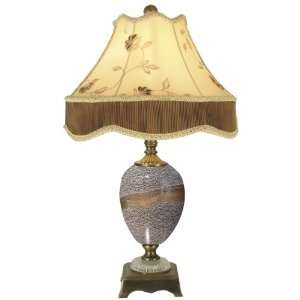 Dale Tiffany PG80332 Granite Stone Table Lamp, Antique