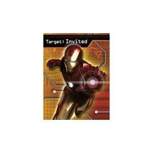 Iron man Invitations (8 Counts) Toys & Games