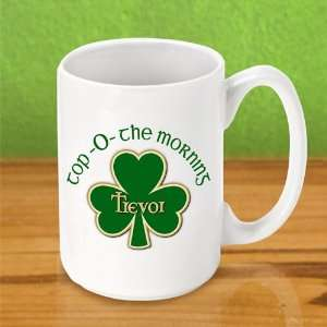 Wedding Favors Top O the Morning Personalized Coffee Mug