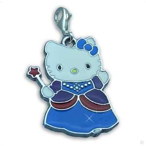 , magic Hello Kitty blue #8592, bracelet Charm  Phone Charm Jewelry