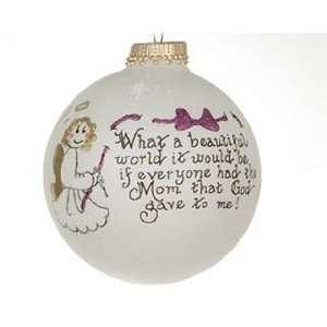 Personalized Mom is a Beautiful Gift Christmas Ornament