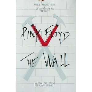 Pink Floyd (The Wall, Nassau Coliseum) Music Poster Print   11 X 17