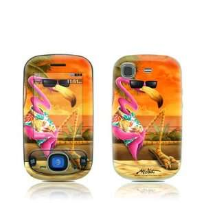Sunset Flamingo Design Protective Skin Decal Sticker for