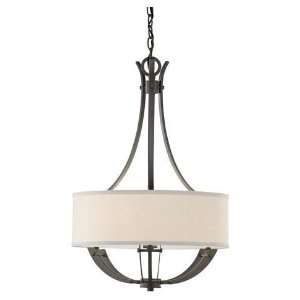 Murray Feiss F2675 3CI Brody 3 Light Large Pendant   Colonial Iron