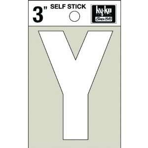 Hy Ko Prod. 30535 White Vinyl Die Cut Self Stick Letters