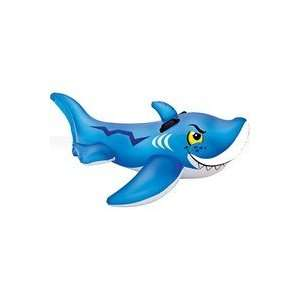 56567EP Friendly Shark Ride On Pool toy Patio, Lawn & Garden