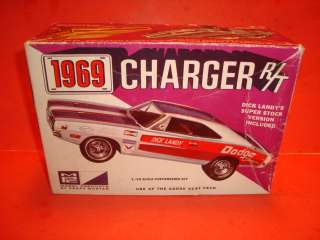 MPC 1969 Dodge Charger Model Car Parts Kit