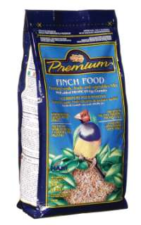 LIVING WORLD FINCH PREMIUM SEED MIX BIRD FOOD 20 LB