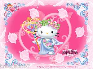 Hello Kitty edible cake image topper  1/4 sheet