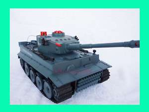 FIGHTING INFRARED GERMAN TIGER RC TANK HQ518 NEW
