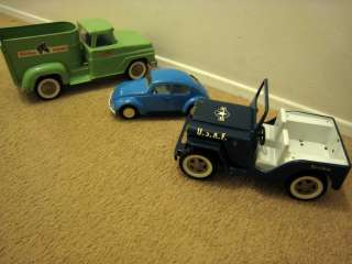Tonka Lot VW Bug/Horse Trailer Farm Truck/USAF Jeep Nice