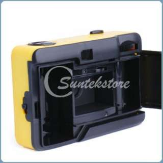 Aqua Underwater Waterproof Mini 35mm Water film Camera Yellow