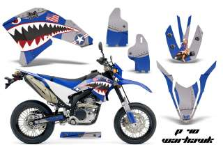AMR RACING DIRT BIKE STICKER DECAL MX DECAL WRAP KIT YAMAHA WR 250 X R