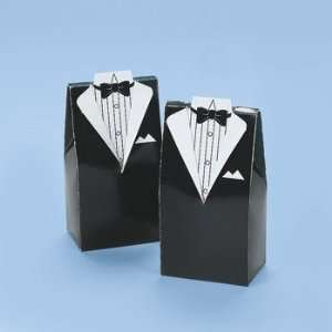 Groom Treat Boxes   Party Favor & Goody Bags & Paper Goody